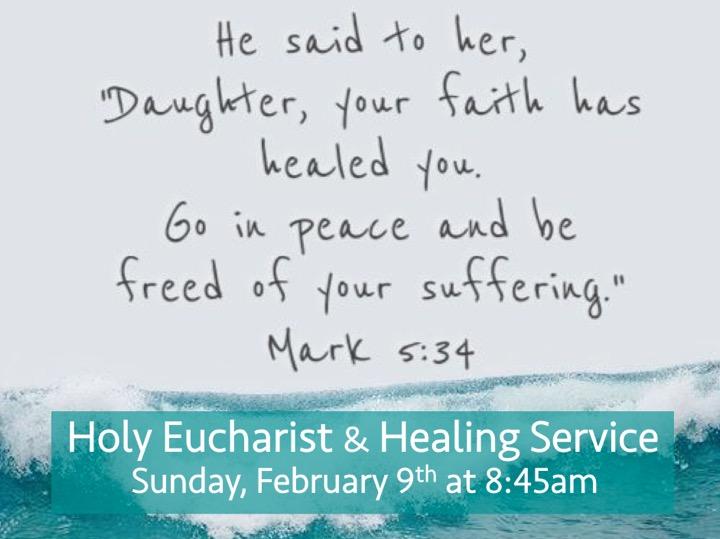 Healing Service 2020-02